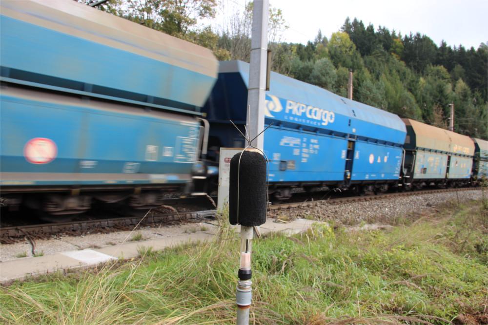 Eisenbahnlärm